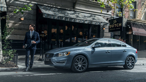 2016 - Volvo S60 at The Dutch Restaurant on Prince St in New York