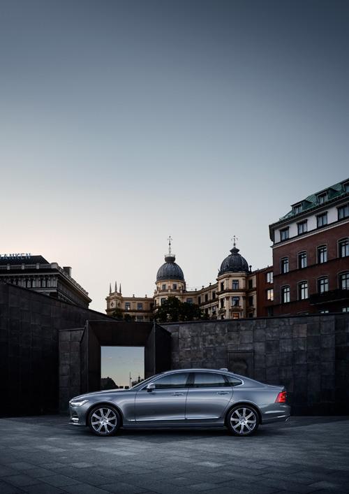 2016 - Volvo S90 at Södra Blasieholmshamnen in Stockholm