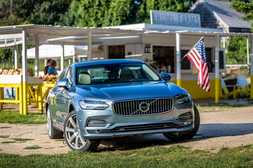2016 - Volvo S90 at Bhumi Farms