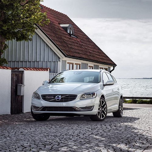 2016 - Volvo V60 at Storgatan in Torekov, Sweden