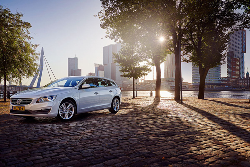 2016 - Volvo V60 on Westerkade in Rotterdam The Netherlands