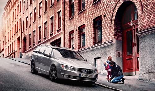 2016 - Volvo V70 Classic somewhere n Göteborg, which street?