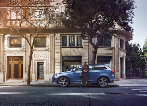 2016 - Volvo XC60,  somewhere in Barcelona, but where?