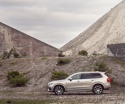 2016 - Volvo XC90 at Furillen on Gotland