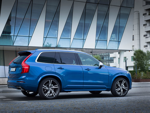 2016 - Volvo XC90 R-Design at Saxo Bank A/S (Headquarters) on Philip Heymans Allé in  Hellerup, Denmark