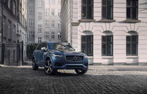 2016 - Volvo XC90 T8 R-design, somewhere in Copenhagen, but where?