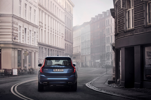 2016 - Volvo XC90 T8 R-design at Sund Sult on Elmegade in Copenhagen, Denmark