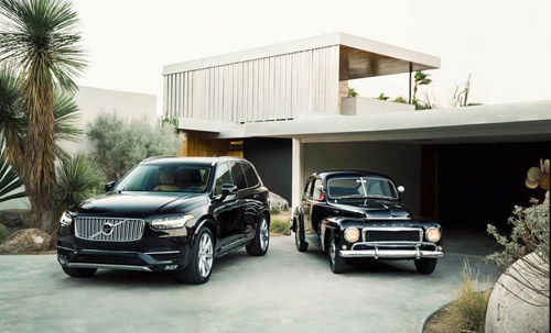 2016 - Volvo XC90 and PV544