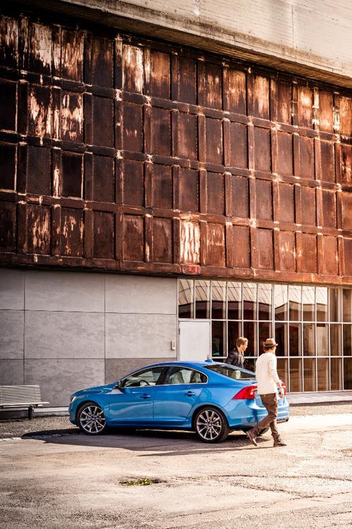 2015 - Volvo S60, somewhere in Spain, maybe Barcelona?