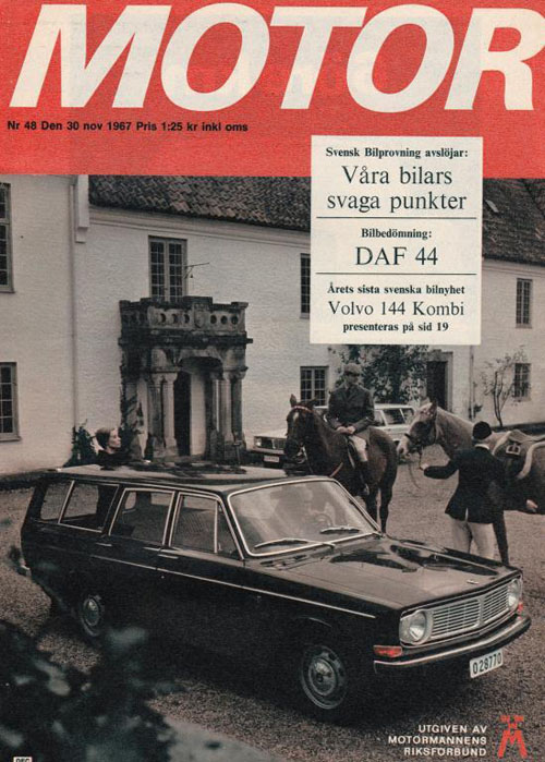 1967 - Volvo 145