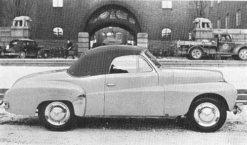 1950 - Volvo P445 Cabriolet by Norbergs