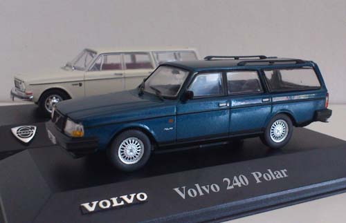 The early Volvo 145 and the late 240 Polar