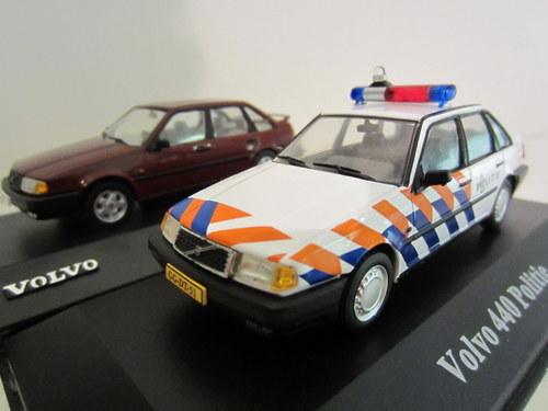 Volvo 440 GLT & Volvo 440 Politie