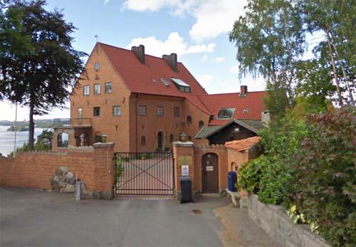 2012- Roskullsvägen 2 on Lidingö near Stockholm (Google Streetview)