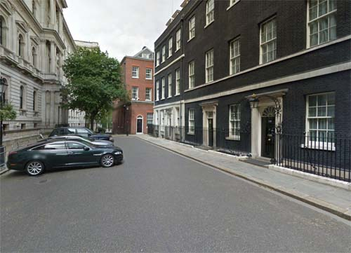 2013 - No. 10 Downing Street in London England UK (Google Streetview)