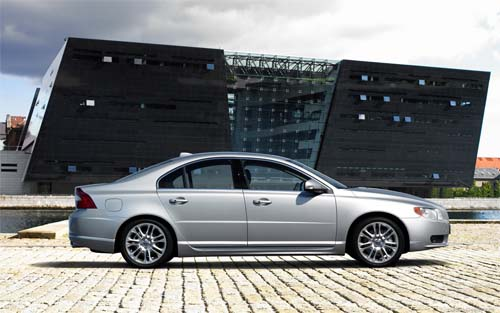 2007 - Volvo S80 - The Black Diamond Copenhagen Denmark