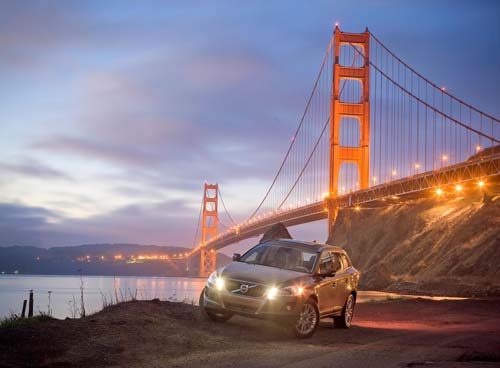 2009 - Volvo XC60 - Golden Gate Bridge in USA