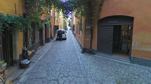 2012 - Brända Tomten in Gamla Stan, Stockholm (Google Streetview)
