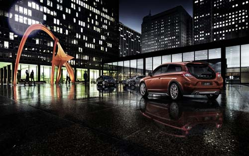 2013 Volvo C30 - Calders Flamingo at 230 South Dearborn Street Chicago USA