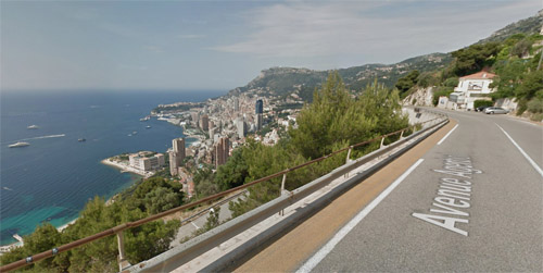 2016 - Avenue Agerbol in Roquebrune-Cap-Martin, Provence-Alpes-Côte d'Azur (Google Streetview)