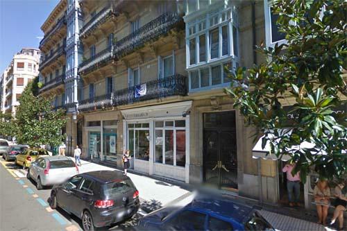 2013 - 29 Fuenterrabia Kalea in San Sebastián, Spain (Google Streetview)