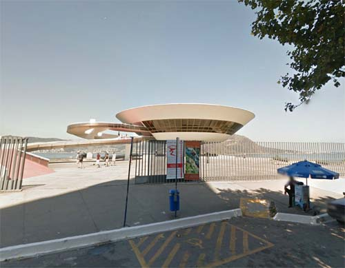2013 - Niterói Contemporary Art Museum in Rio de Janeiro BR (Google Streetview)