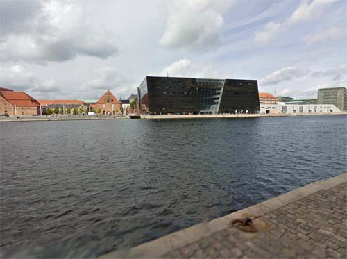2013 - The Royal Library or The Black Diamond in Copenhagen, Denmark (Google Streetview)