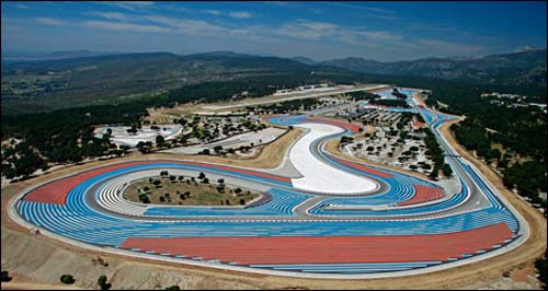Circuit Paul Ricard Le Castellet France Overview