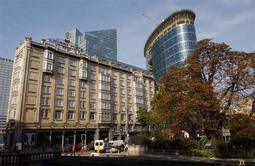 Crown Plaza Hotel Brussel