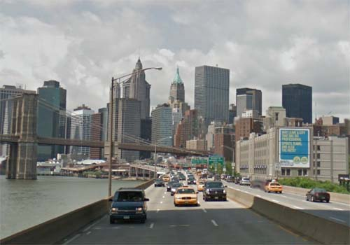 2013 - FDR Drive in New York USA (Google Streetview)
