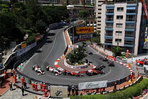 Formula One visits every year Monaco.
