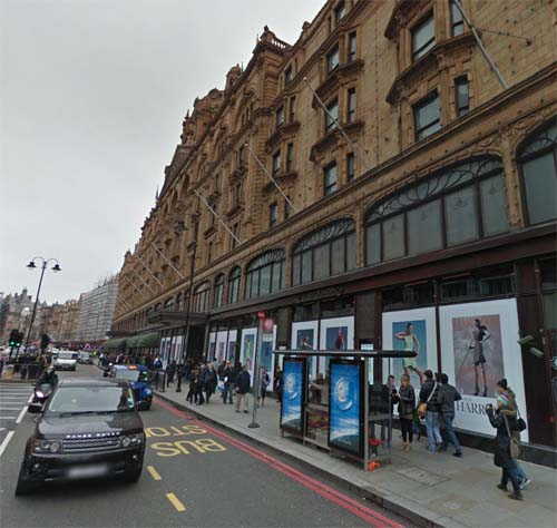 2013 - Harrods at 102 Brompton Road in London England UK (Google Streetview)