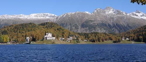2013 - Hotel-Restaurant Waldhaus am See in St. Moritz Schweiz