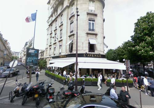 2013 - L'Avenue on 41 Avenue Montaigne in Paris, France (Google Strretview)