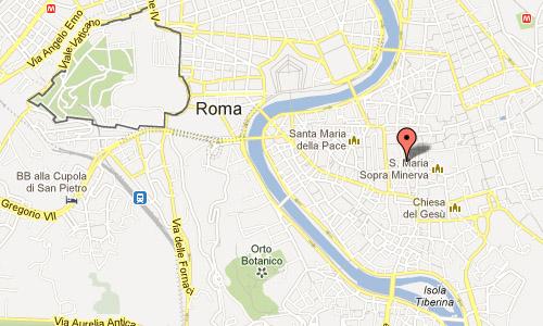 Piazza di Sant'Eustachio Roma Lazio Italy Map
