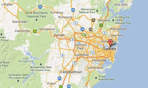 Sydney Opera House Map