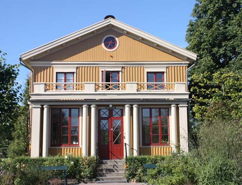 2012 - Direktörsvillan on Trädgårdsföreningen in Göteborg