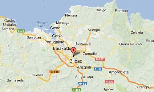 Universidades Hiribidea Bilbao Map