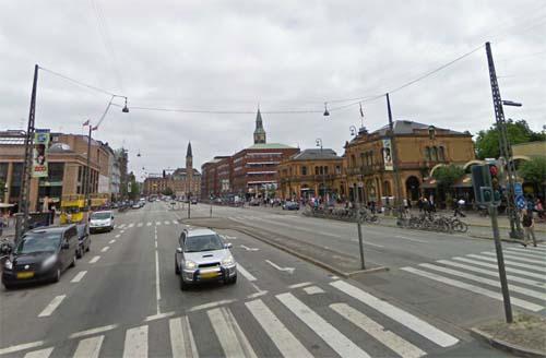 2013 - Vesterbrogade in København Danmark (Google Streetview)