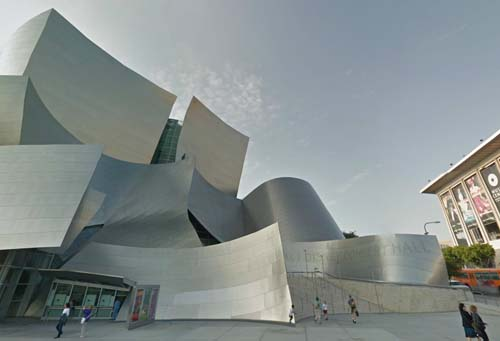 2013 - Walt Disney Concert Hall on 111 S Grand Ave, Los Angeles, CA - USA (Google Streetview)