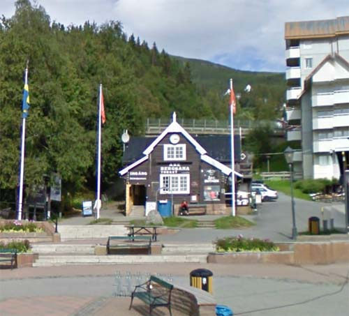 2012 - Bergbana Torget in Åre (Google Streetview)