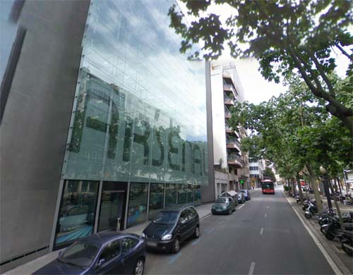 2013 - Arsenal Mixto on Via Augusta 39-43 in Barcelona Spain (Google Streetview)