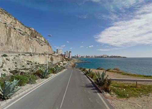 2013 -  Calle Sol Naciente in Alicante Spain (Google Streetview)