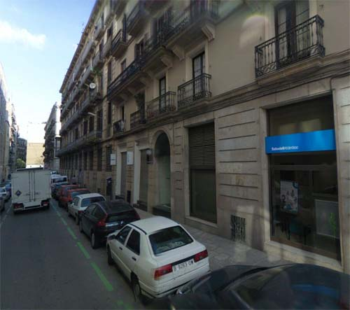 2013 - Carrer Antic de Sant Joan in Barcelona, Spain (Google Streetview)