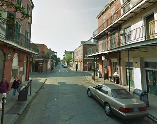 2013 - Dumaine Street in New Orleans, USA (Google Streetview)