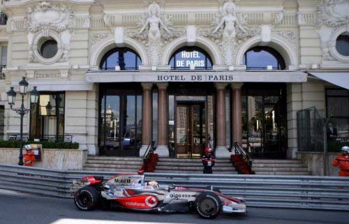Formula One and Hotel de Paris Monaco