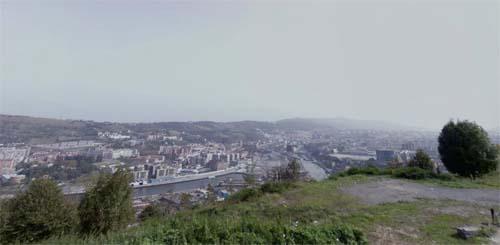 2013 - View on Bilbao from Kobetabidea Bidea in Bilbao - Spain (Google Streetview)