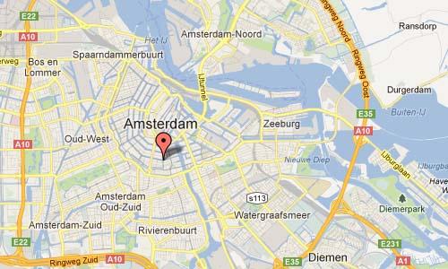 Reguliersgracht Amsterdam NL Map