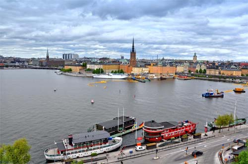2013 - View from Söder Mälarstrand to Riddarholmen