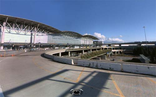 2013 - San Francisco International Airport in SF - USA (Bing Streetside)